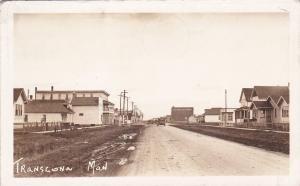 RP:Transcona , Manitoba , Canada , PU-1939;  Main Street