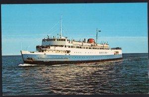 M.V.S. ABEGWEIT Ice Breaker Ferry Passenger Rail Car NB to PEI 1950s-1970s