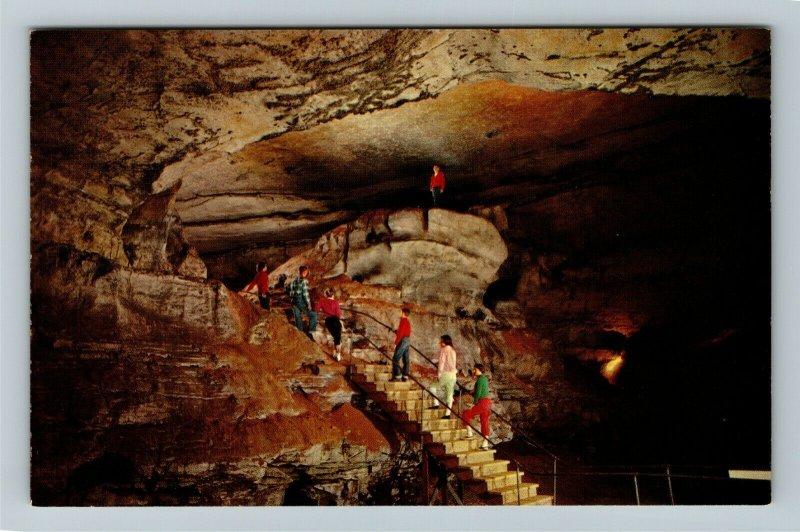 Mammoth Cave National Park KY-Kentucky, Booth's Amphitheatre, Chrome Postcard