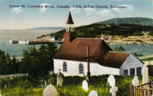Little Indian Church, Lower St.Lawrence River, Tadoussac,Quebec,Canada,00-10s