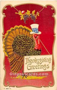 Thanksgiving Greeting 1908