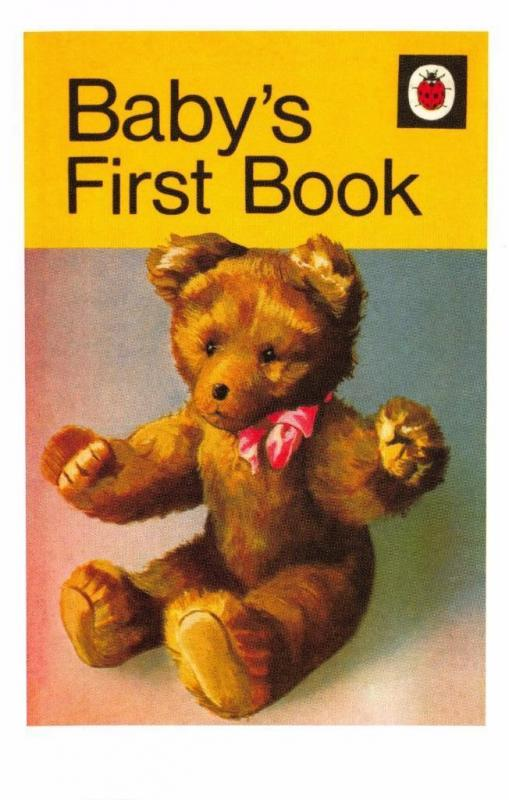 Postcard Baby's First Book (1954) Series 413 Ladybird Book Cover