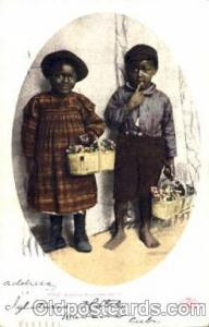 Bashful Billy & Sister Black Blacks Postcard Post Card  Bashful Billy & Sister