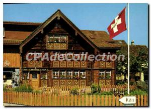 Modern Postcard Appenzell Bemaites Haus Des Glockensattiers