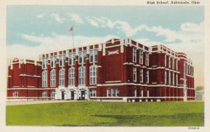 ASHTABULA , Ohio , 1930-40s ; High School