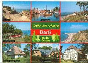 Germany, Grusse vom Schonen, darß an der Ostsee, 1994 used Postcard