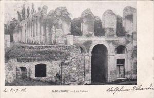 Belgium Morlanwelz Mariemont Les Ruines 1903