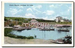 Postcard Old Cuba Punta Blanca Santiago