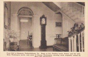 Virginia Fredericksburg The Hall At Kenmore Albertype