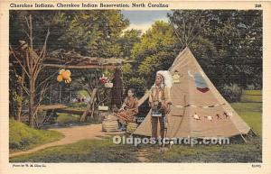Cherokee Indians Cherokee Indian Reservation, North Carolina, NC, USA Unused