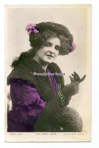 b5471 - Stage Actress - Mabel Green , No.1612 - postcard