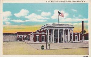 Southern Railway Station, Greensboro, North Carolina, 30-40s