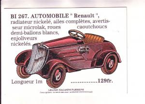 Renault Car, French Ad c 1920,