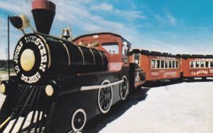 Miniature Train, Le Train Western, Dolbeau, Quebec, Canada, 1940-1960s