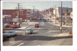 Main Street, Business District, Hawkesbury, Ontario, Expo '67 Logo,