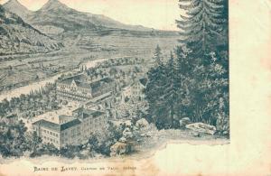Switzerland Bains de Lavey Canton de Vaud Suisse 02.88