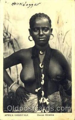 Donna Amarica African Nude Post Card Post Card  Donna Amarica