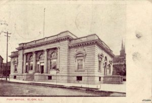 POST OFFICE ELGIN, IL 1905
