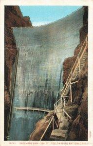 Postcard Shoshone Dam Cody Wyoming