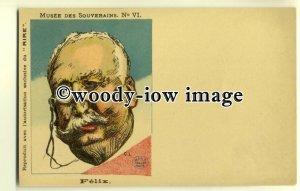 su1711 - French Political Satire - Felix - postcard