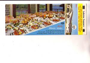 New Glasgow Recreation Centre Lobster Suppers, Prince Edward Island, Advertising