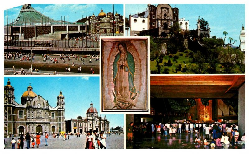 Mexico Aspects of the Shrine to the Virgin of Guadalupe