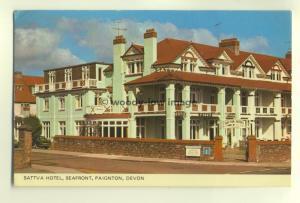 tp5825 - Devon - Sattva Hotel on the Seafront in Paignton - Postcard