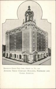 Brooklyn Eagle Postcard Series #143 c1905 Postcard JENKINS TRUST CO BANK
