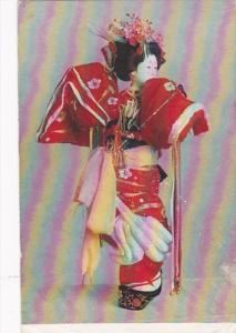 Japan Tokyo Kamuro Kabuki Dance