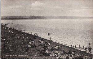 Vancouver BC English Bay Unused J. Howard Chapman Postcard G30