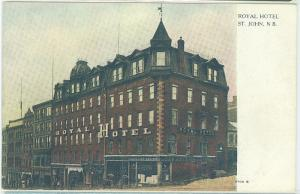 Royal Hotel, St John NB