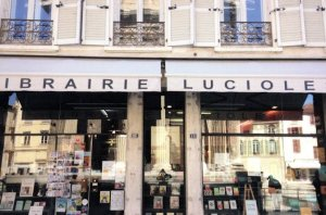 Librairie Lucioles Vienne Isere France French Bookstore Book Shop Postcard