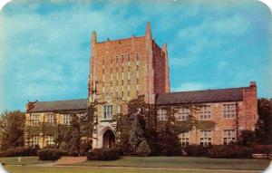 OK, Oklahoma   UNIVERSITY OF TULSA~McFarlin Library   c1950's Chrome Postcard