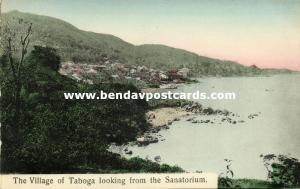 panama, Island of TABOGA, Village seen from the Sanatorium (1910s)