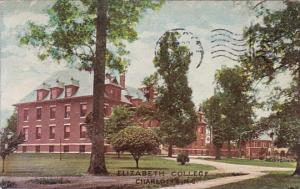 North Carolina Charlotte Elizabeth College 1908