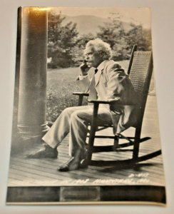 Mark Twain Smoking Cigar Rocking Chair 1980 Hannibal, Missouri Kodak LL Cook