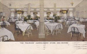 Iowa Des Moines Harris-Emery Store The Tea Room 1917