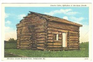 Lincoln Cabin, Birthpalce of Abraham Lincoln, Abraham Lincoln National Park, ...