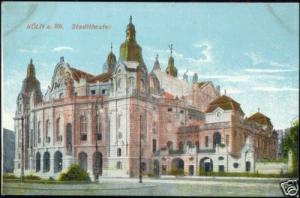 germany, KÖLN COLOGNE, Stadttheater, THEATRE (1910s)