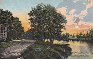 Sunset, Edgemere Drive, West Allenhurst, New Jersey, 1900-1910s