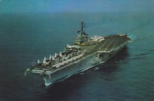 Aircraft Carrier USS INDEPENDENCE , 50-60s