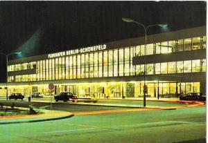 Germany, Berlin-Schonefeld airport, 1970s unused Postcard