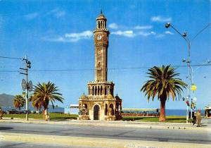 Turkey Egenin Incisi Izmir Konak Square Clock Tower Postcard