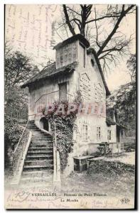 Postcard Old water mill Versailles Hameau du Petit Trianon The mill