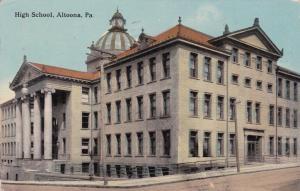 ALTOONA, Pennsylvania, PU-1912; High School
