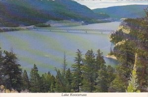 Lake Koocanusa Libby Montana
