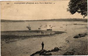 CPA Locquirec (Finistere) - Le Port a Marée basse (243653)