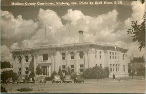 Vtg Postcard 1940s RPPC - Madiscon County Court House Rexburg ID Cecil Nixon