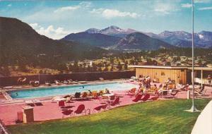 Colorado Estes Park Stanley Hotel Swimming Pool