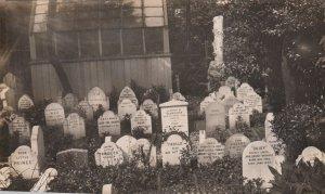 LONDON , England , 1908 ; HYDE PARK , The Dog's Cemetery #2